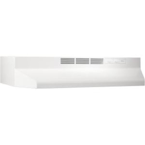 NuTone RL6200 30 in. Non-Vented Range Hood in White