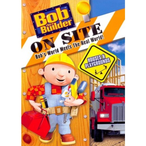 Bob The Builder On Site: Houses & Playgrounds (DVD)