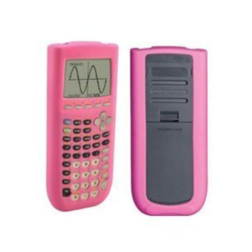 Guerrilla Silicone Case for Texas Instruments TI-84 Plus Graphing Calculator, Pink [Pink]