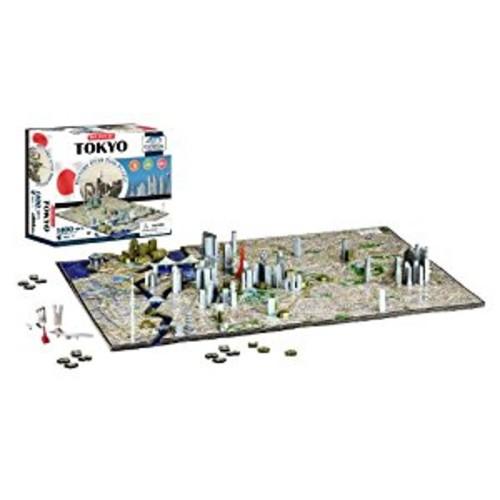 4D Cityscape Tokyo Time Puzzle