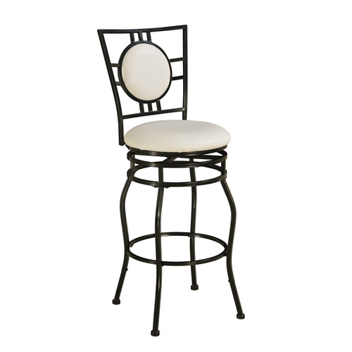Linon Townsend Adjustable Height Bar Stool