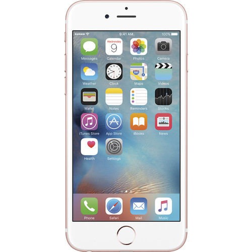 Apple - iPhone 6s 64GB (Unlocked) - Rose G