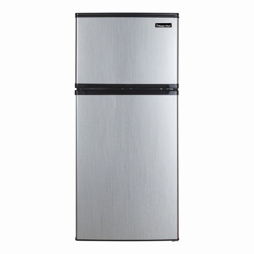 Magic Chef 4.3 cu. ft. Mini Refrigerator in Stainless Steel
