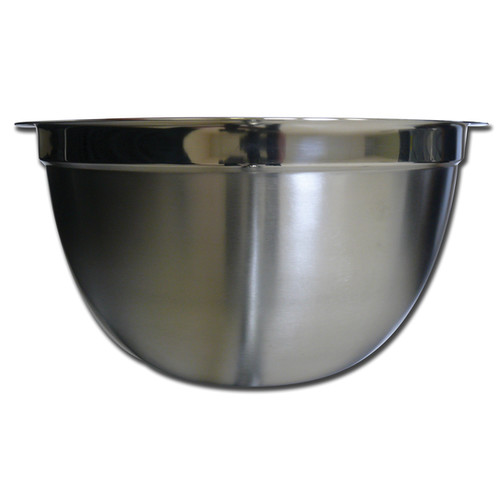 Ai-De-Chef K0801-05 8 Quart Satin Stainless Steel Mixing Bowl