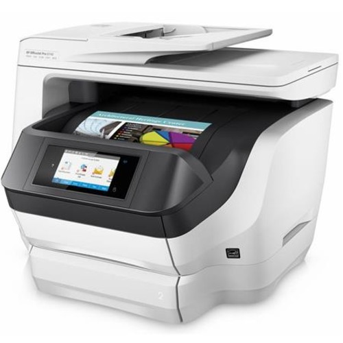 HP OfficeJet Pro 8740 Wireless All-in-One Thermal Inkjet Printer K7S42A