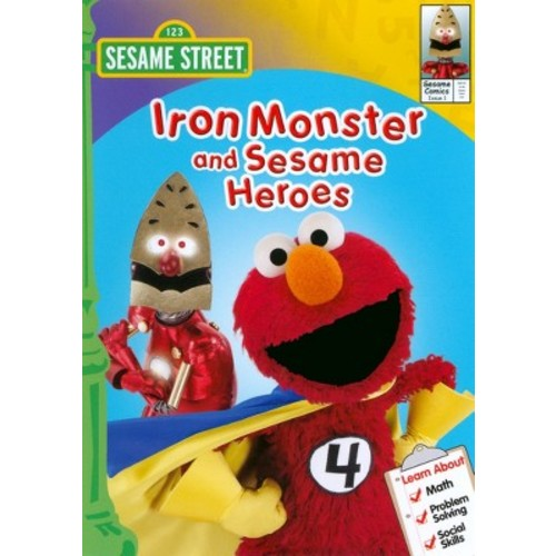 Sesame Street: Iron Monster and Sesame Heroes (dvd_video)