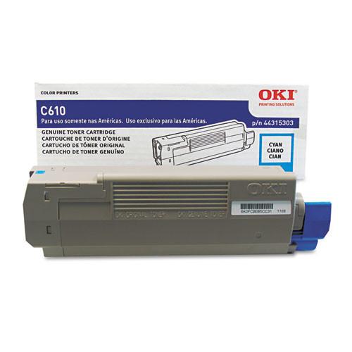 Oki Original Toner Cartridge, 1 Each (Quantity)