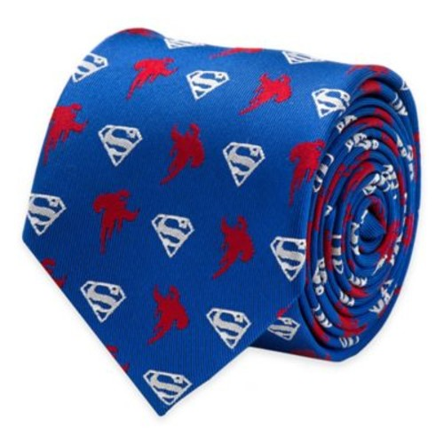 DC Comics Superman Logo Tie in Blue/Red