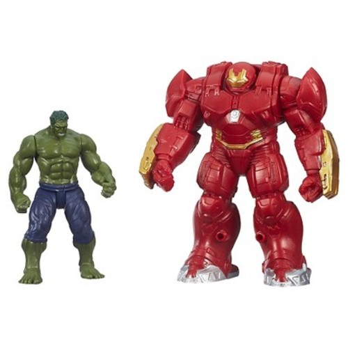 Marvel Avengers Age of Ultron Hulk and Marvel's Hulk Buster Figures