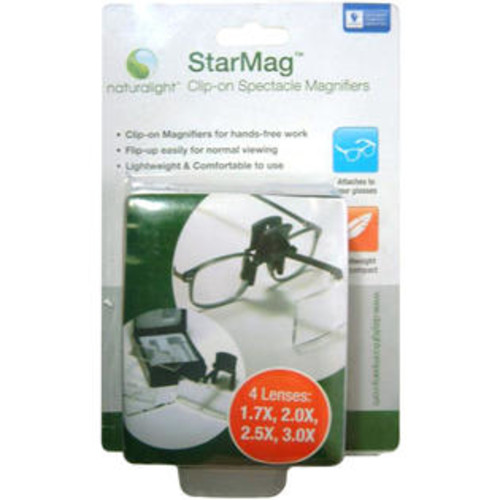 DAYLIGHT Naturalight StarMag Clip-On Spectacle Magnifier-