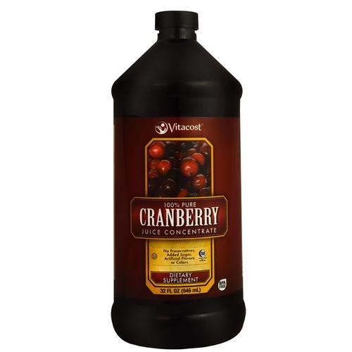 Vitacost 100% Pure Cranberry Juice Concentrate -- 32 fl oz