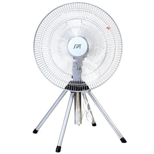 Sunpentown SF-1816 3-Speed Heavy-Duty 18-Inch Fan [Silver]