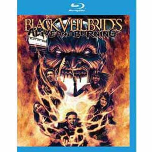 Black Veil Brides: Alive and Burning [Blu-ray]
