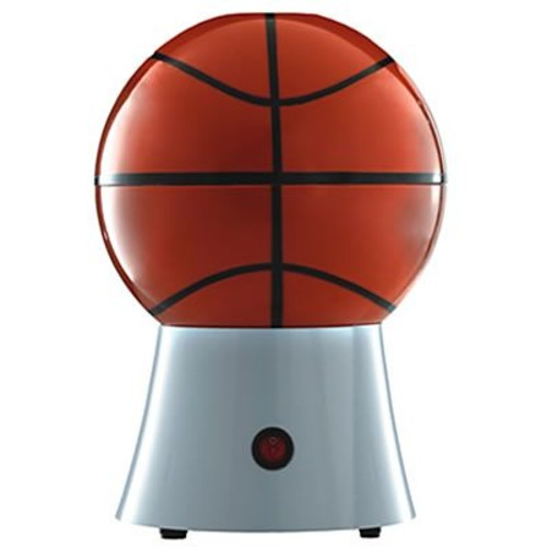 Brentwood 1200 W Basketball Popcorn Maker, White