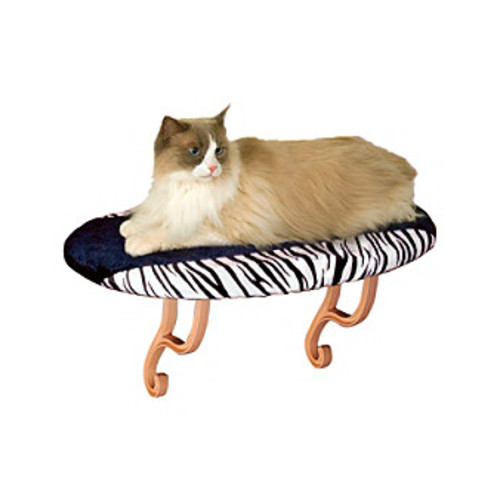 K&H Pet Products Zebra Kitty Sill
