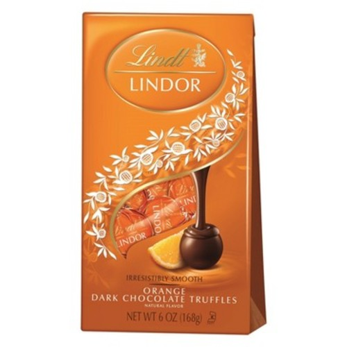 Lindt Lindor Orange Dark Chocolate Truffles - 6oz