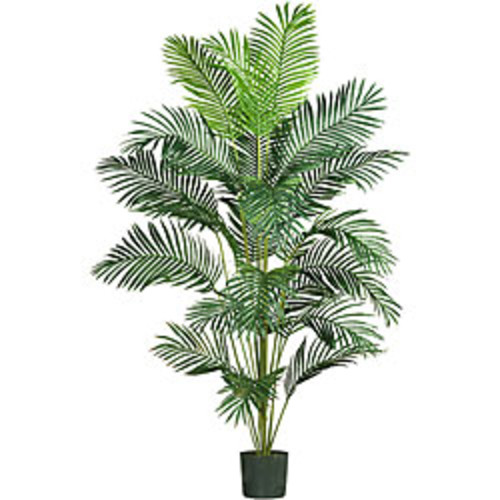 Nearly Natural Artificial Plants 7 ft Kentia Palm Silk Tree