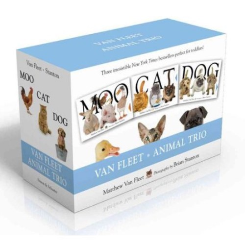 Van Fleet Animal Trio: Moo; Cat; Dog