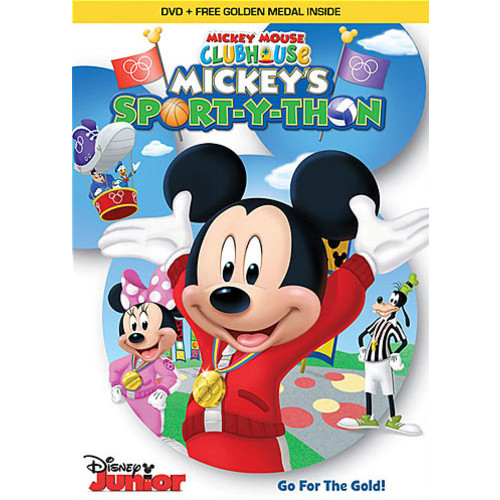 Mickey Mouse Clubhouse: Mickey's Sport-Y-Thon [DVD]