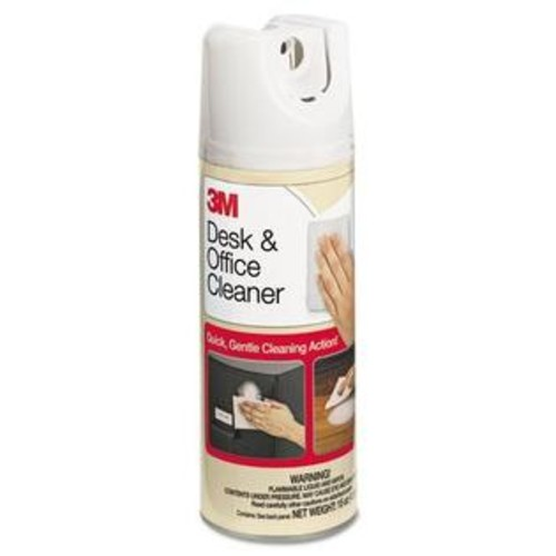 3M 573 Desk Office Spray Cleaner, 15oz Aerosol - 1 Each