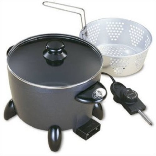 Presto 06003 Options Electric Multi-Cooker/Steamer [Black, One Size]