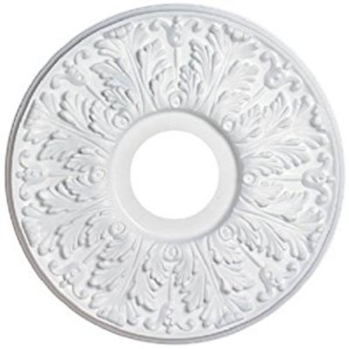 Westinghouse7702800 15-1/2-Inch Victorian White Finish Ceiling Medallion