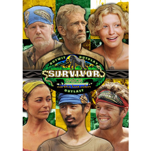 Survivor: Gabon (Season 17) DVD-9
