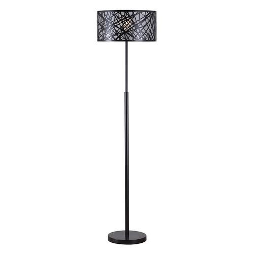 Kenroy Home Bramble 59 in. Black Floor Lamp