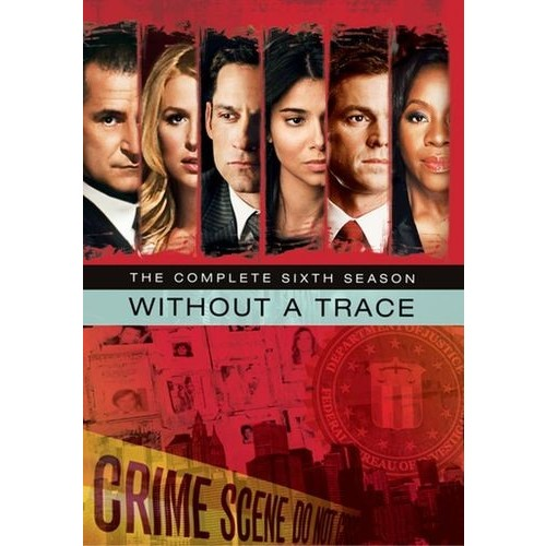 Without a Trace: The Complete Sixth Season [5 Discs] [DVD]