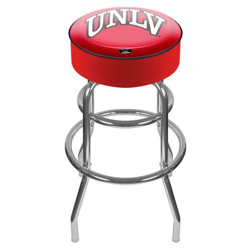 UNLV Rebels Padded Swivel Bar Stool