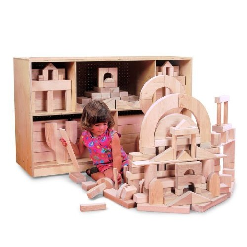 Whitney Brothers Hardwood Block Set, Beginner