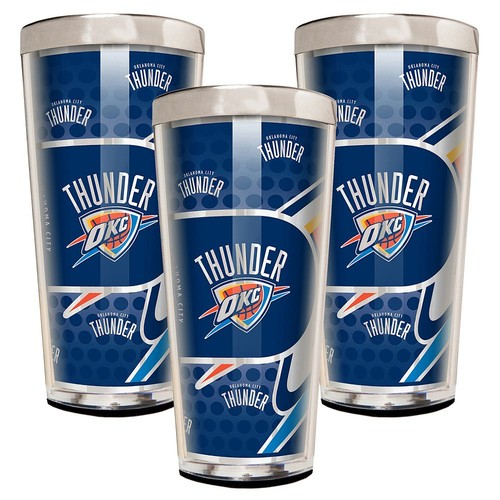 Oklahoma City Thunder 3-Piece Shot Glass Set