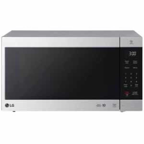 LG 2.0 cu. ft. NeoChef Countertop Microwave with Smart Inverter and EasyClean - Stainless Steel