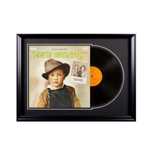 Deluxe Framed Album - Elvis Presley - Elvis Country