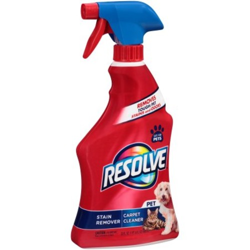 Resolve Pet Expert Carpet & Upholstery Cleaner - Removes Stains and Odors, 22 oz [1]