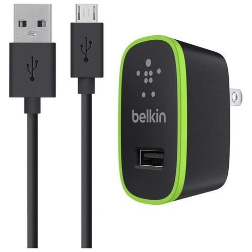 Belkin Universal Home Charger with Micro USB ChargeSync Cable, 2.1 Amps