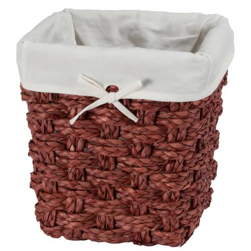 Creative Bath Chunky Weave Wastebasket