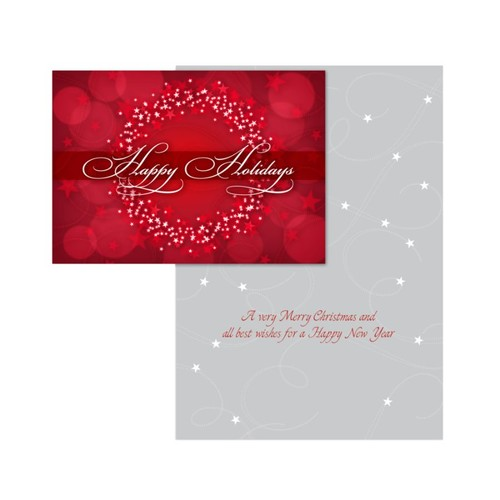 Personalized Designer Greeting Cards With Envelopes, Two-Sided, Folded, 7 1/4