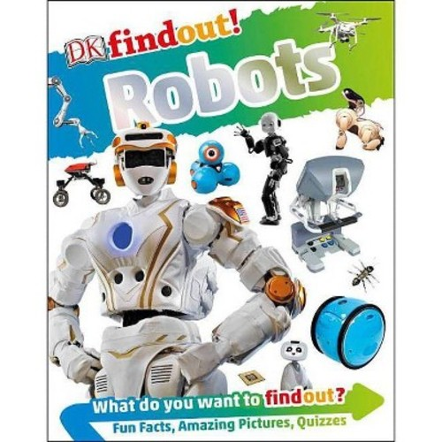 DK Findout! Robots (Hardcover)