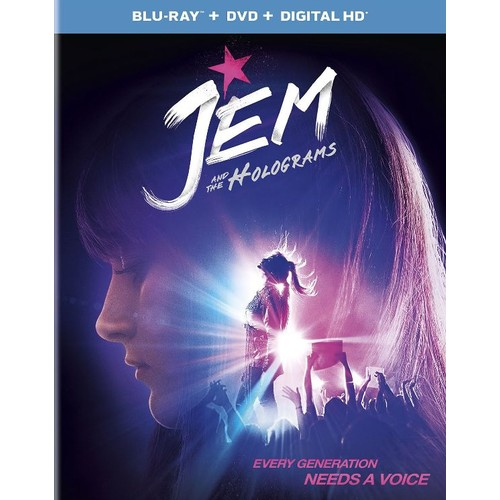 Jem and the Holograms [Includes Digital Copy] [UltraViolet] [Blu-ray/DVD] [2 Discs] [2015]