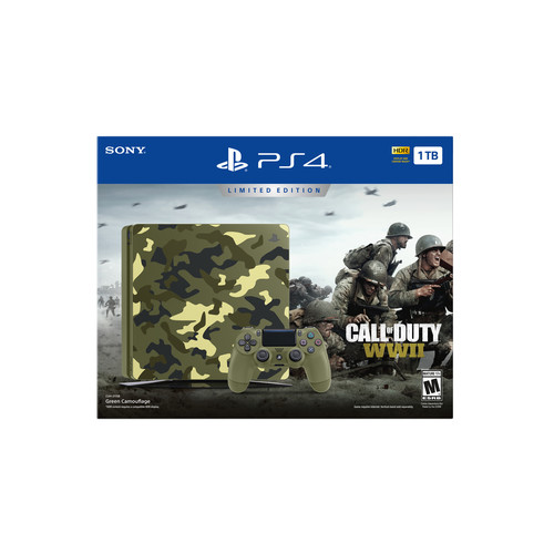 PlayStation 4 Call of Duty: WWII 1TB Console Bundle