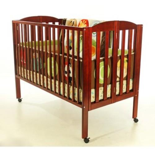Dream On Me Inc. 616C (Cherry)-Full Size Folding Crib