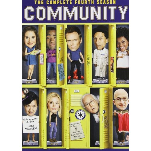 Community: Season 4: Alison Brie, Danny Pudi, Yvette Brown, Ken Jeong, Joel McHale, Gillian Jacobs, Donald Glover, Chevy Chase, Jake Aust, Megan Ganz: Movies & TV