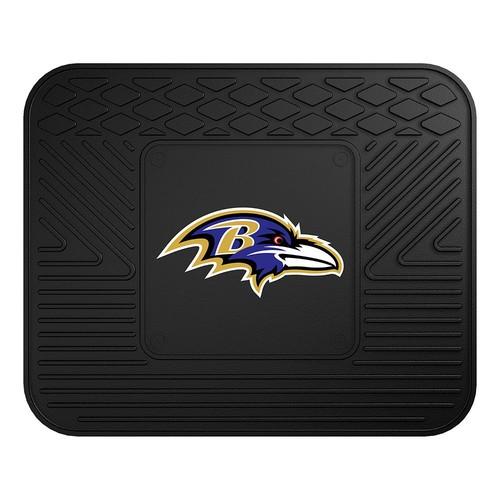 FANMATS NFL Baltimore Ravens Vinyl Utility Mat [Rear]