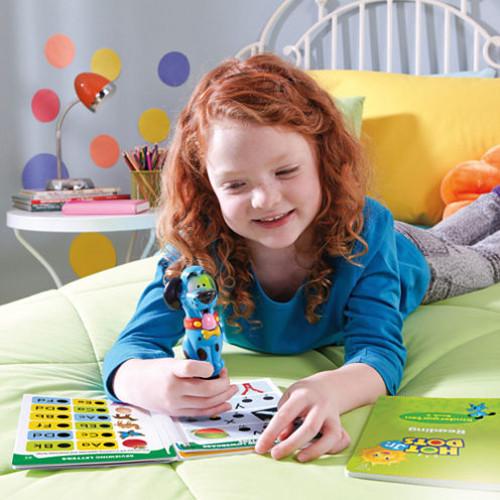 Educational Insights Hot Dots Jr. Let's Master Kindergarten Reading Set with Ace Pen