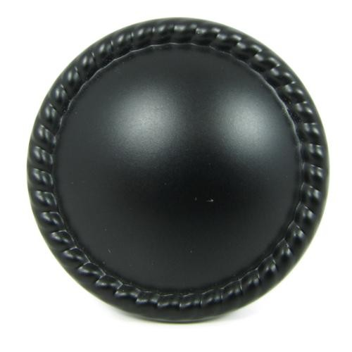 Stone Mill Newport Matte Black Cabinet Knobs (Pack of 10)