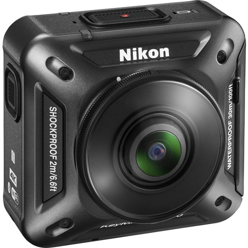 Nikon - KeyMission 360 Degree Waterproof Action Camera - Black