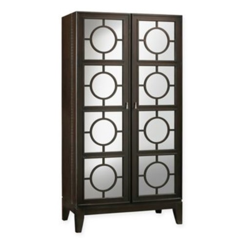 Howard Miller Barolo Wine Cabinet in Dark Brown