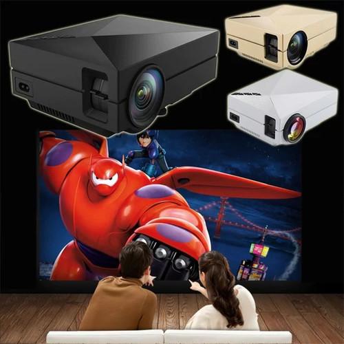 Mini Portable Home Cinema Theater LED Projector HD 1080P HDMI AV USB VGA - Home Theather