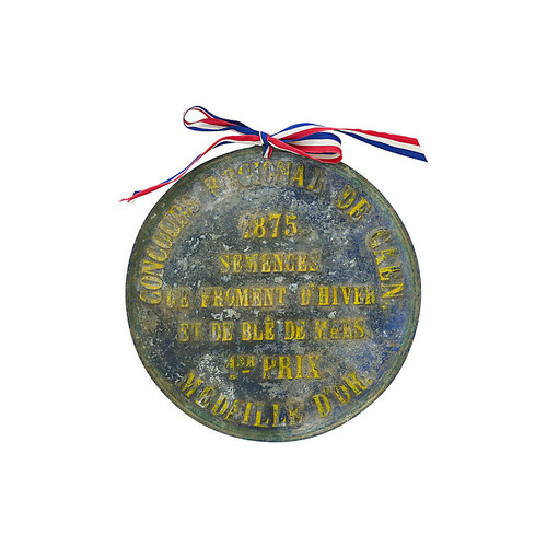 Antique French Livestock Award, 1875
